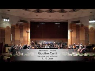 Francesco Di Fiore - QUATTRO CANTI - Concerto for Guitar and Orchestra